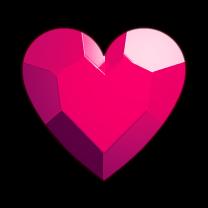 board symbols heart