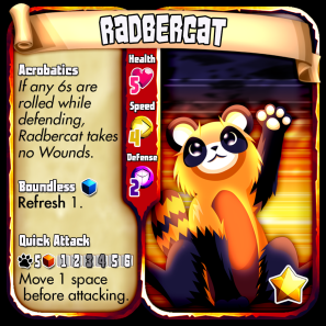 Beast - Radbercat Leveled
